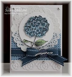 Like this take on the set, usually see it as a sympathy card.  This is a happy card.