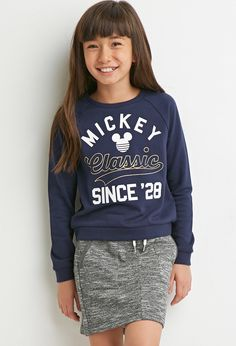 Mickey Mouse Classic Sweatshirt (Kids) | Forever 21 girls - 2000161684