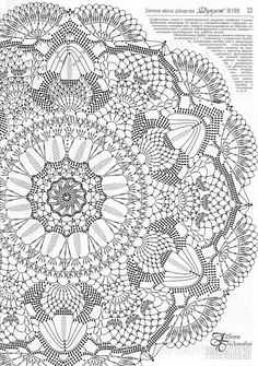 Best 12 Crochet Mandala + Diagram + Free Pattern Step By Step – SkillOfKing.Com - Her Crochet Crochet Doily Diagram, Crochet Mandala Pattern, Crochet Doily Patterns, Thread Crochet, Filet Crochet, Crochet Shawl, Irish Crochet, Crochet Designs, Crochet Stitches