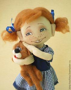 Губы текстильной куклы мастер класс