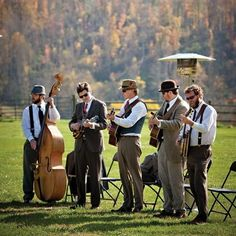 You could have some funky jazz, for the beginning of the day and just after the wedding. - Pre WC of course