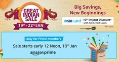 Amazon Great Indian Sale 2020: Sale will start from 19 January, the offer will be available on Redmi Note 8 Pro, know more details Good Insta Captions, Yes Bank, Note 8, New Beginnings, January, How To Apply, Indian, Learning, Amazon