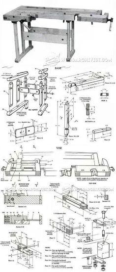 Workbench Plans - Workshop Solutions Plans, Tips and Tricks | WoodArchivist.com
