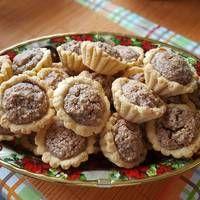 Diós kosárka King Torta, Cookie Recipes, Dessert Recipes, Cake Cookies, Deserts, Food And Drink, Tart, Yummy Food, Sweets