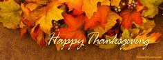 Happy Thanksgiving Facebook Cover HolidayFBCovers.com