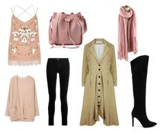 """""""Untitled #101"""" by heta-makinen on Polyvore featuring River Island, J Brand, Pura López, A - M M - E and MANGO"""