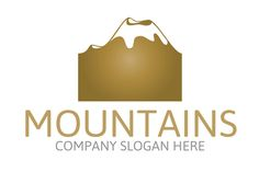 Mountain Logo by Josuf Media on Creative Market