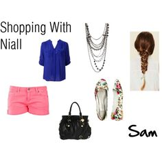 """Sam: Shopping With Niall"" by ashxzx on Polyvore"