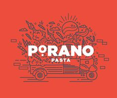 With Atomicdust I was given the opportunity to work with Porano Pasta.
