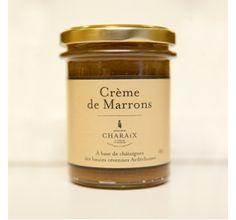 Crème de marrons - Maison Charaix