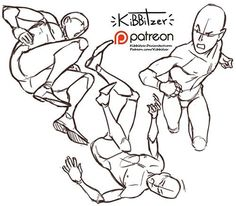 Figure Drawing Tutorial kibbitzer is creating paintings, tutorials, comics. Action Pose Reference, Figure Drawing Reference, Art Reference Poses, Anatomy Reference, Action Poses, Hand Reference, Drawing Techniques, Drawing Tips, Drawing Tutorials