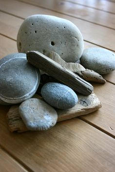 Stones and Driftwood