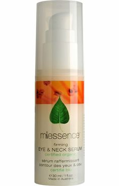 Miessence Certified Organic Firming Eye - no palm oil or derivatives listed
