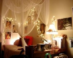 23 Amazing Canopies with String Lights Ideas