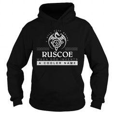 Nice It's an RUSCOE thing, Custom RUSCOE T-Shirts Check more at https://designyourownsweatshirt.com/its-an-ruscoe-thing-custom-ruscoe-t-shirts.html