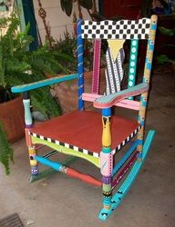 Hand painted furniture gallery - Hand painted rocks & furniture