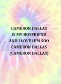 Cameron dallas song