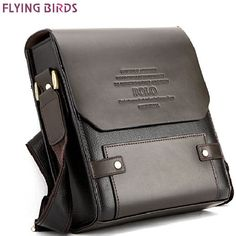 3bfdf1d63e99 New Authentic Vertical Polo Men Leather Briefcase Shoulder Bag Luggage Black