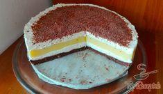 Krémes torta sütés nélkül Frosting, Icing, Vanilla Cake, Tiramisu, Curry, Food And Drink, Sweets, Cheesecake, Ethnic Recipes