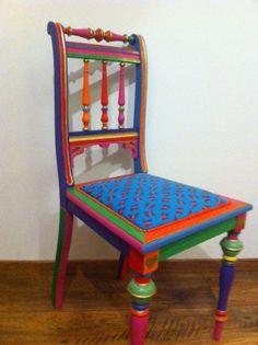 Bemalte Stühle bemalte stühle upcycling bemalte stühle und stuhl