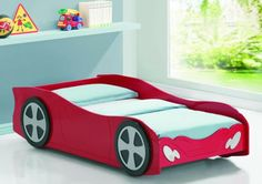 Kinderzimmer Gestalten   20 Kinderbetten Für Jungs, Wie Autos Geformt