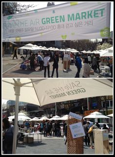GREEN MARKET #2 (Apr 15, 2012)  #JinAir #SAVetHEAiR #GREENMARKET