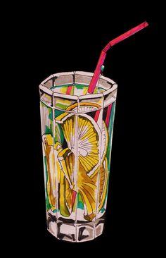 Lemon water on Behance