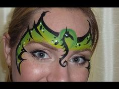 Dragon Mask Face Painting Tutorial - YouTube