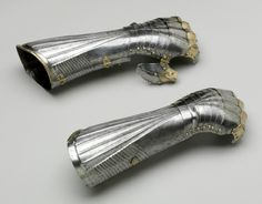 Philadelphia Museum of Art - Collections Object : Pair of Elbow Gauntlets (hand defenses) - German, c. 1485  - Kienbusch collection