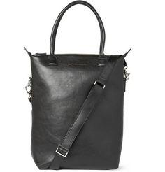 want les essentiels de la vie  orly leather tote bag