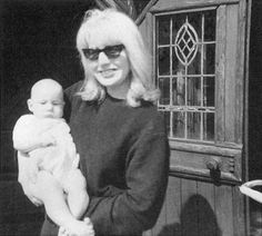 In memory of Cynthia Lennon - Cynthia and baby Julian