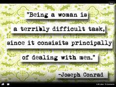 Favorite quote from Joseph Conrad