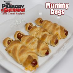 Mummy Dogs-- A DIY idea for movie snacks at a backyard movie event by Southern Outdoor Cinema.