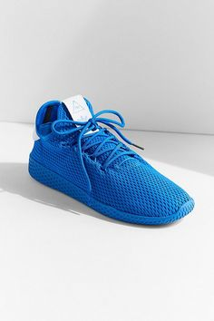 966fdf68ba Slide View  1  adidas Originals X Pharrell Williams Blue Tennis Hu Primary  Sneaker Williams