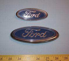 Ford Blue Body Emblems