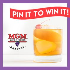 Pin Your Favorite Cocktail Recipe, Win $100!  MGM Wine & Spirits want to know which ones are YOUR favorite on Pinterest! Click this image and pin one of more of your favorite recipes then complete the form below to be entered to win a $100 gift card to MGM Wine & Spirits!