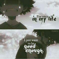I want to but I can't...I'm not good enough