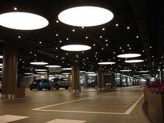 Image result for skylight into parking garage