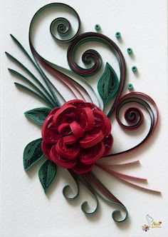 Quilling - beautiful paper art as wall decorations