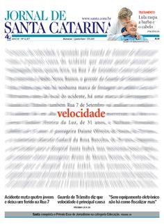 Capa premiada na 33ª edição do The Best of Newspaper Design. / Aline Fialho, Fabiana Roza, Marcelo Camacho e Edgar Gonçalves Jr