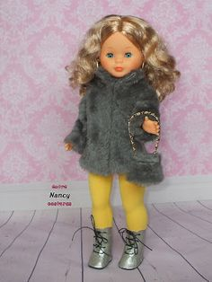 Nancy entre costuras Nancy Doll, American Girl Clothes, Doll Clothes, Harajuku, Girl Outfits, Dolls, Crochet, Barbie, Fashion