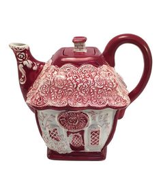 This Rose Teapot is perfect! #zulilyfinds
