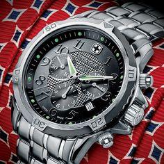 Wenger GST Swiss Officer Chrono Stainless Bracelet $219.00