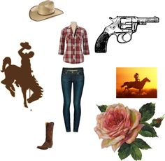 """""""My Western Ranch Outfit"""" by koolskittle on Polyvore"""