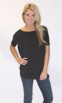 Piko Tee! The top that looks good on every body! $30 on www.shopriffraff.com/piko