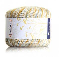 Blossom Print: 50% Cotton/Algodão, 35% Viscose, 15% Linen/Linho