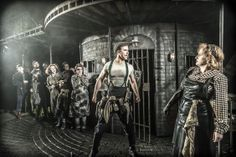 1st look at #Urinetown the Musical at #London's St. James Theatre Richard Fleeshman (Bobby Strong), Jenna Russell (Penelope Pennywise) & Company Photo: Johan Persson ♡ www.LOVEtheatre.com/tickets/3587/URINETOWN-The-Musical?sid=PIN