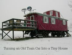 This Only Train Car Has Been Turned Into This Fascinating Tiny House