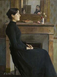 SANTIAGO RUSIÑOL - Female Figure