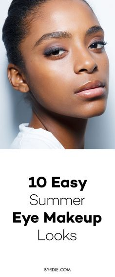 10 easy summer eye makeup looks